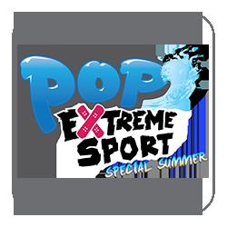 Logo Pop Extreme Sport Summer